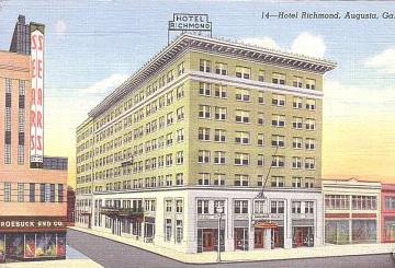 Hotel Richmond Augusta Ga