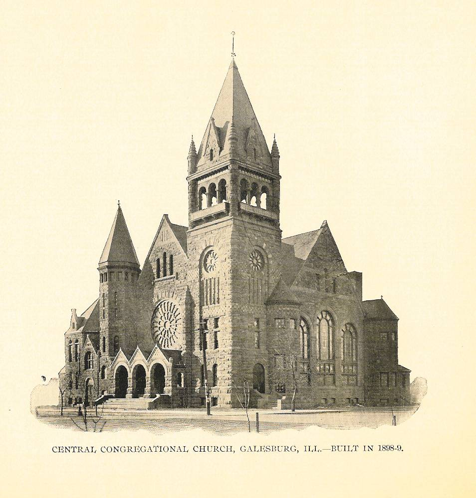 Central Congregational Church, Galesburg, IL