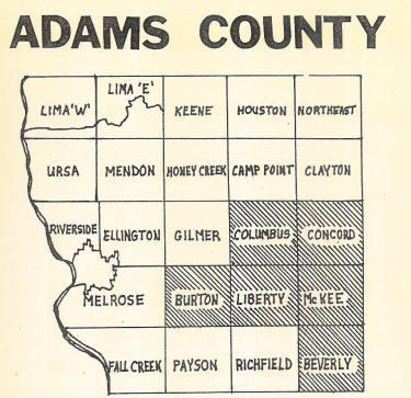 Adams County Cemeteries Il Genealogy Il Sav N Graves