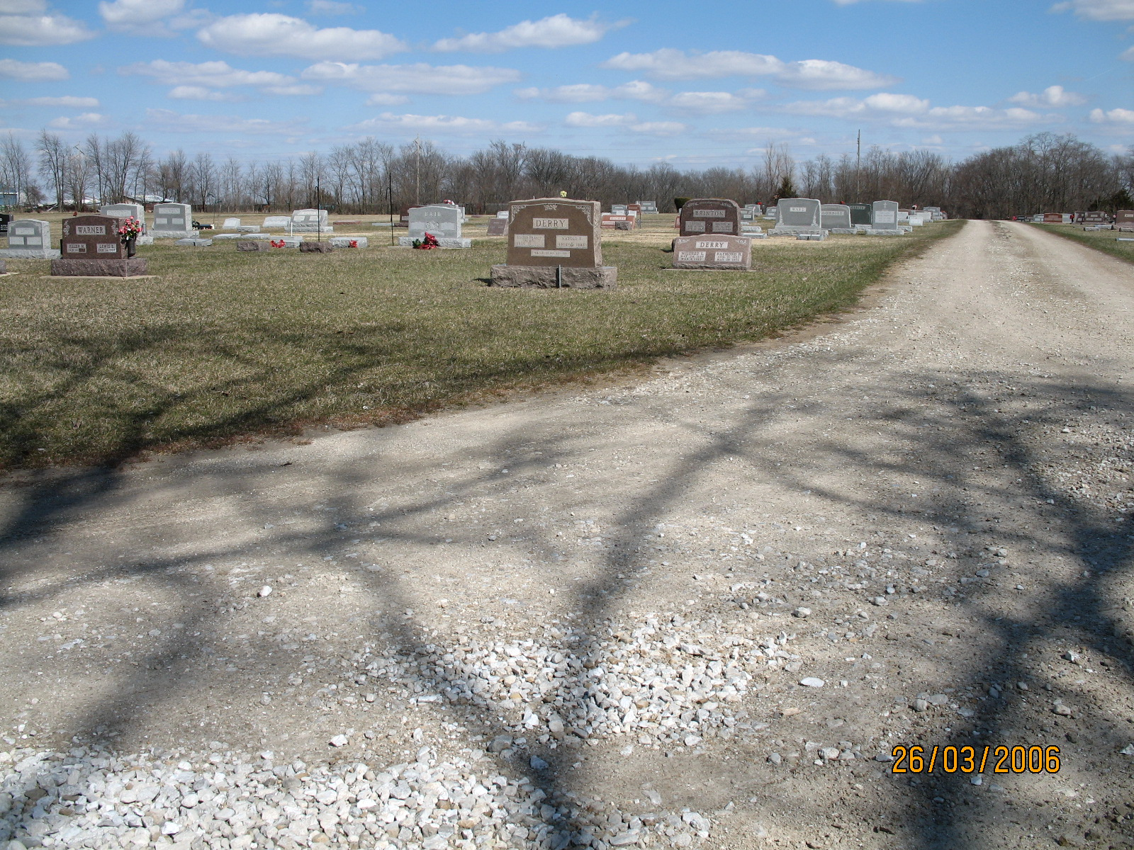 Illinois fulton county vermont - Overview Photo Of The New Part Of Vermont Cemetery Fulton Co Il