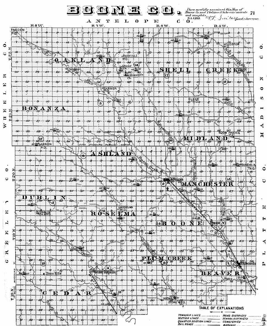 1885 nebraska atlas
