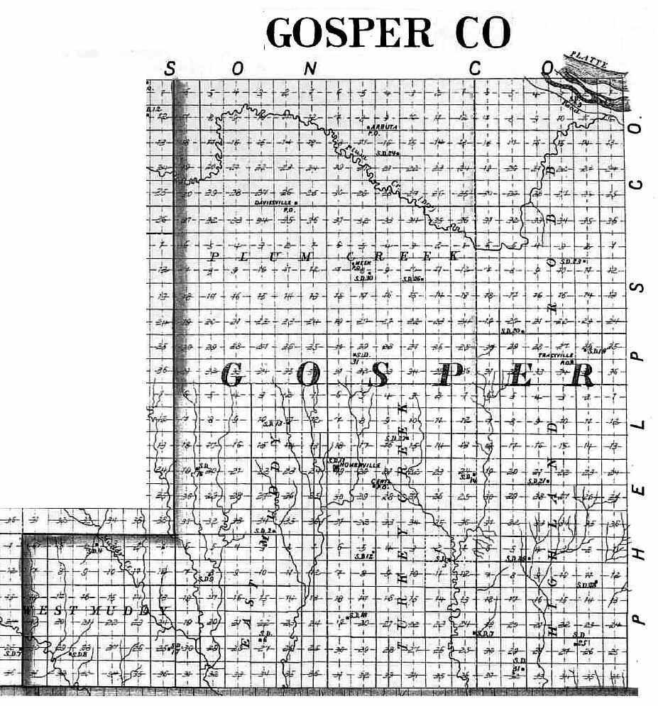 gosper county dating The government entity responsible for maintaining vital records in nebraska is the nebraska department of health  dating back to, or near, the  gosper county.