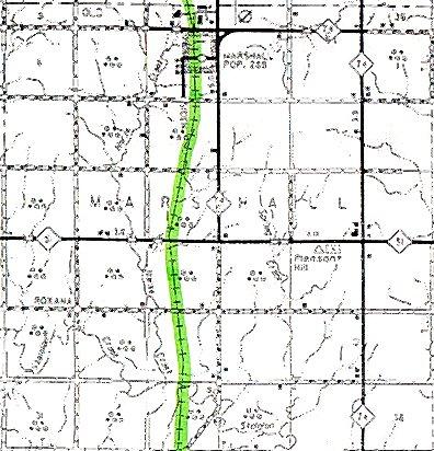 Kingfisher County Oklahoma Map.Marshall Township Logan County Oklahoma