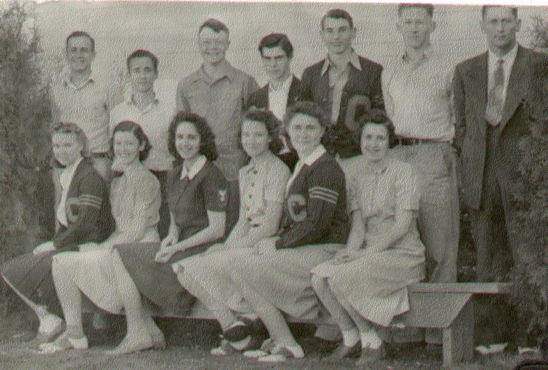 High School Juniors - 1941 - Cove