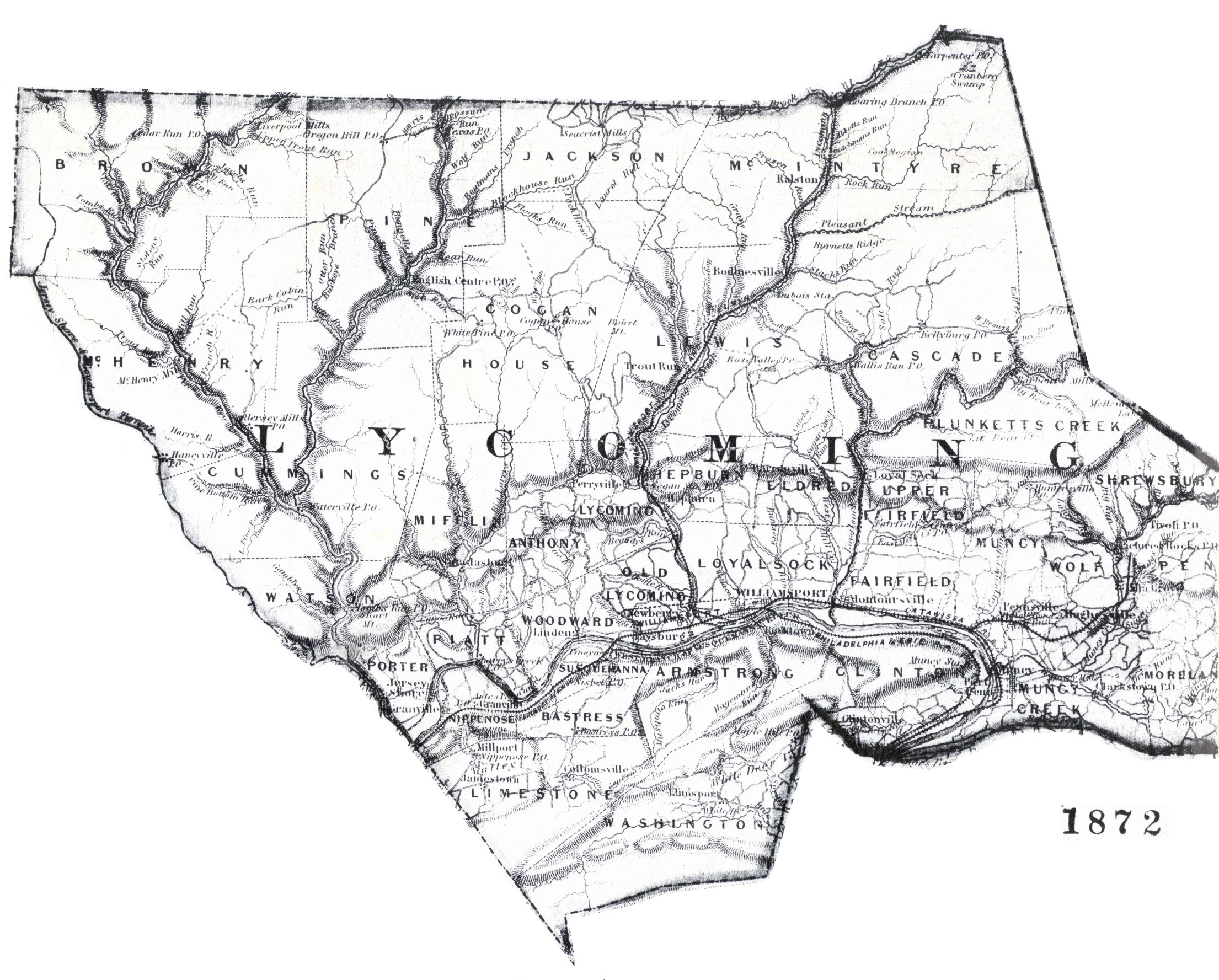 File:Map of Lycoming County, Pennsylvania All Blank.PNG ...