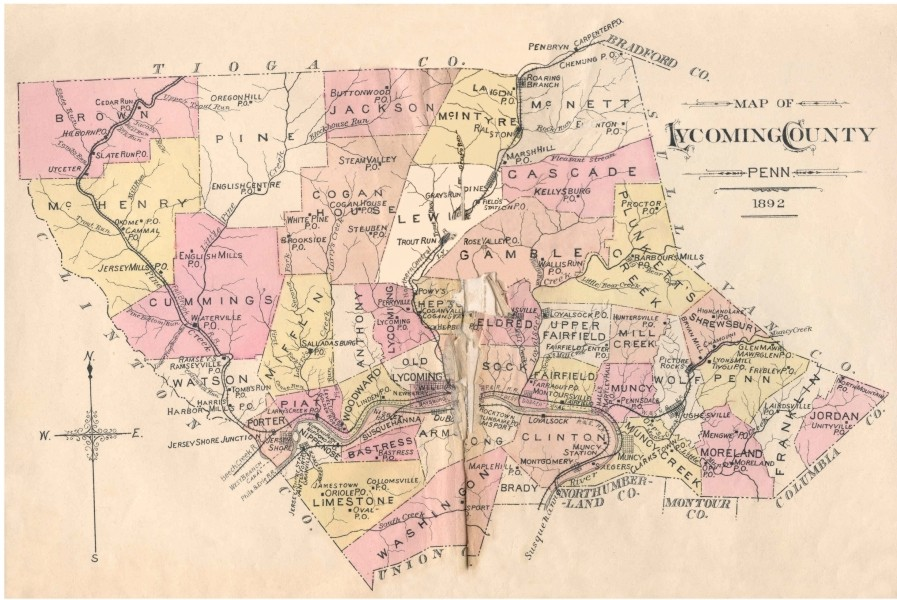 Townships, Boroughs, County Evolution for PA Counties