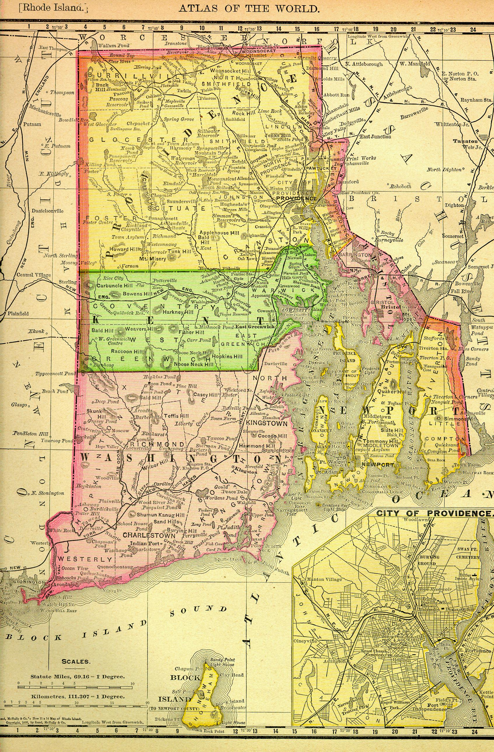 Download this Map Rhode Island picture