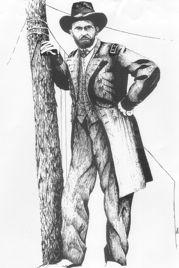In 1864 the Yankees finally caught up with Confederate Gen. Robert E.