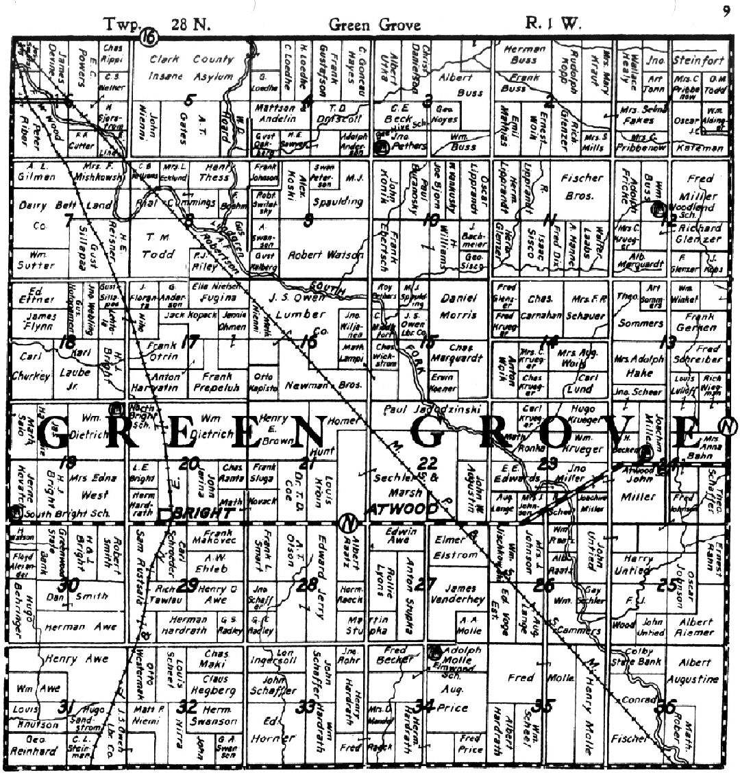 Cranmoor, Wisconsin (WI 54495) profile: population, maps ... |Cranmoor Wood County Wisconsin Plat Map